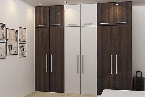 3 coloured designfull bedroom cupboards