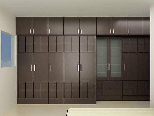 block designed bedroom cupboards