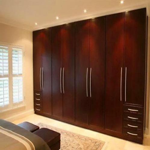 Matte finish royal bedroom cupboards