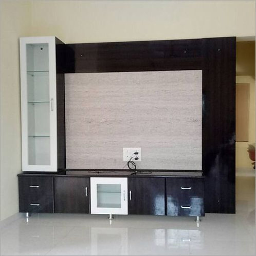 Modern metal cotted tv unit