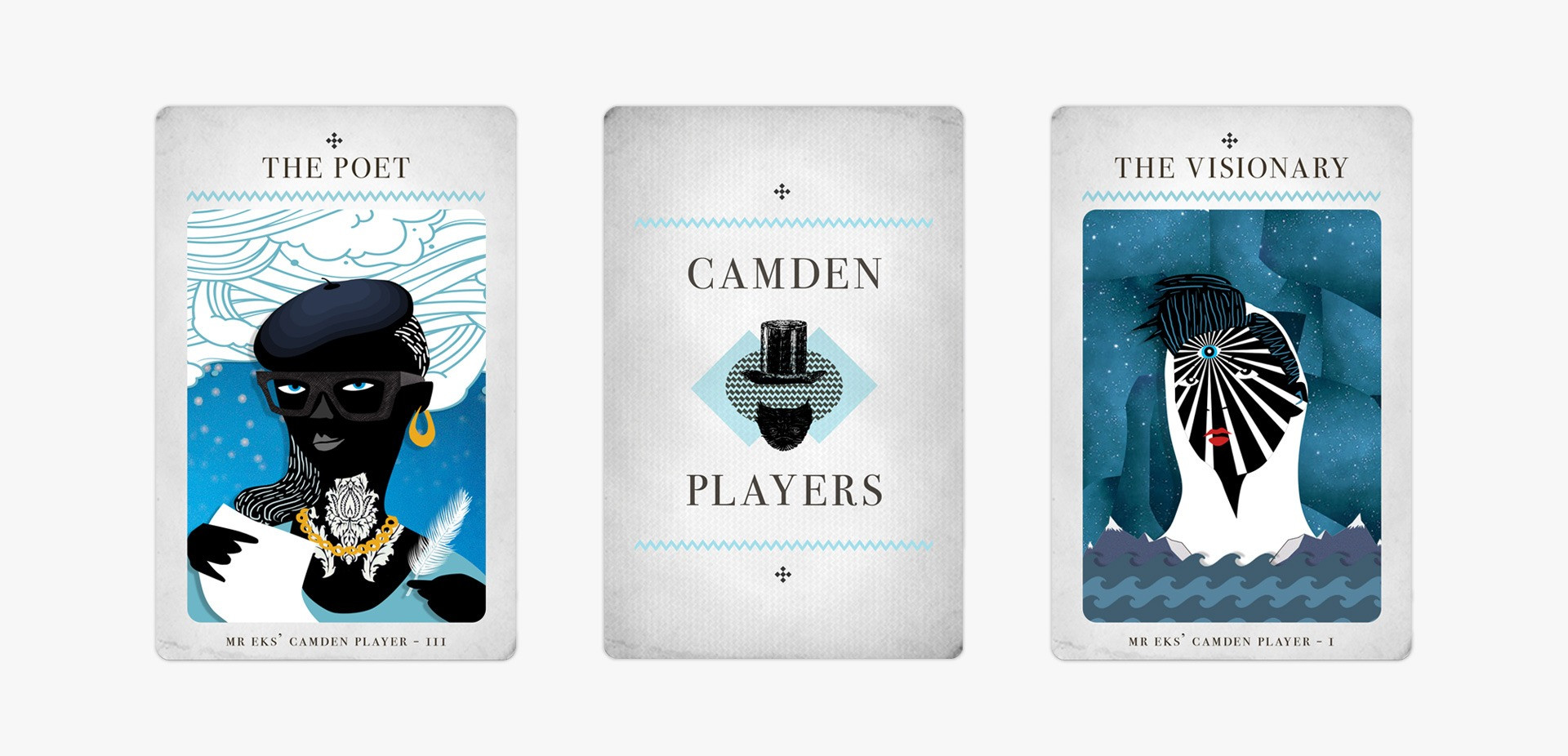 Tarot game to discover Camden