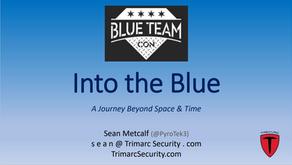 Into the Blue: Blue Team Con Slides