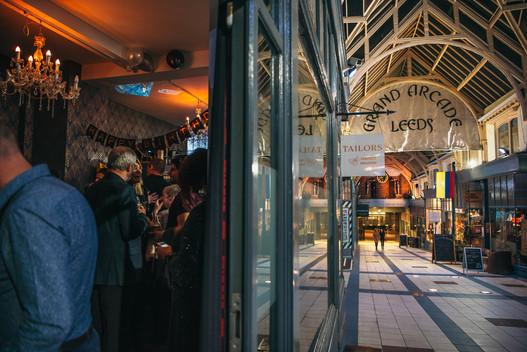 Leeds grand Arcade - Tailors Gin Bar