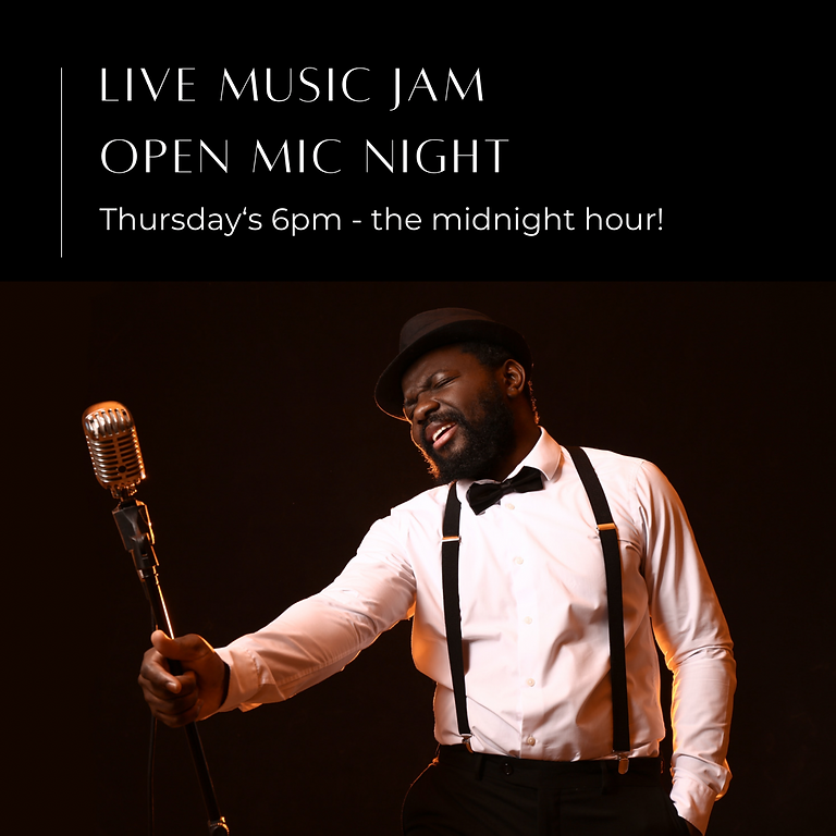 SPEAKEASY JAZZ JAM: Open Mic Night