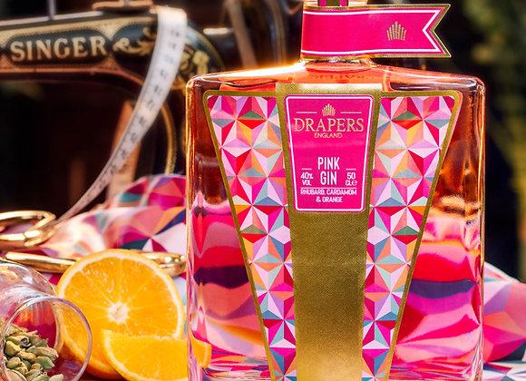 DRAPERS Rhubarb, Cardamom & Orange Pink Gin