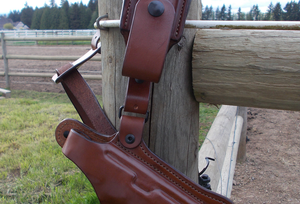 """Back Country"" Chest Holster with Mag Pouch"