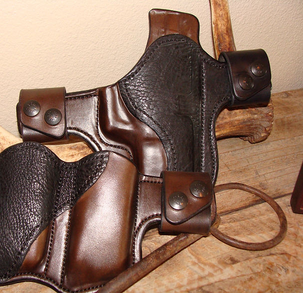 Custom Sharkskin Snapcake Holster