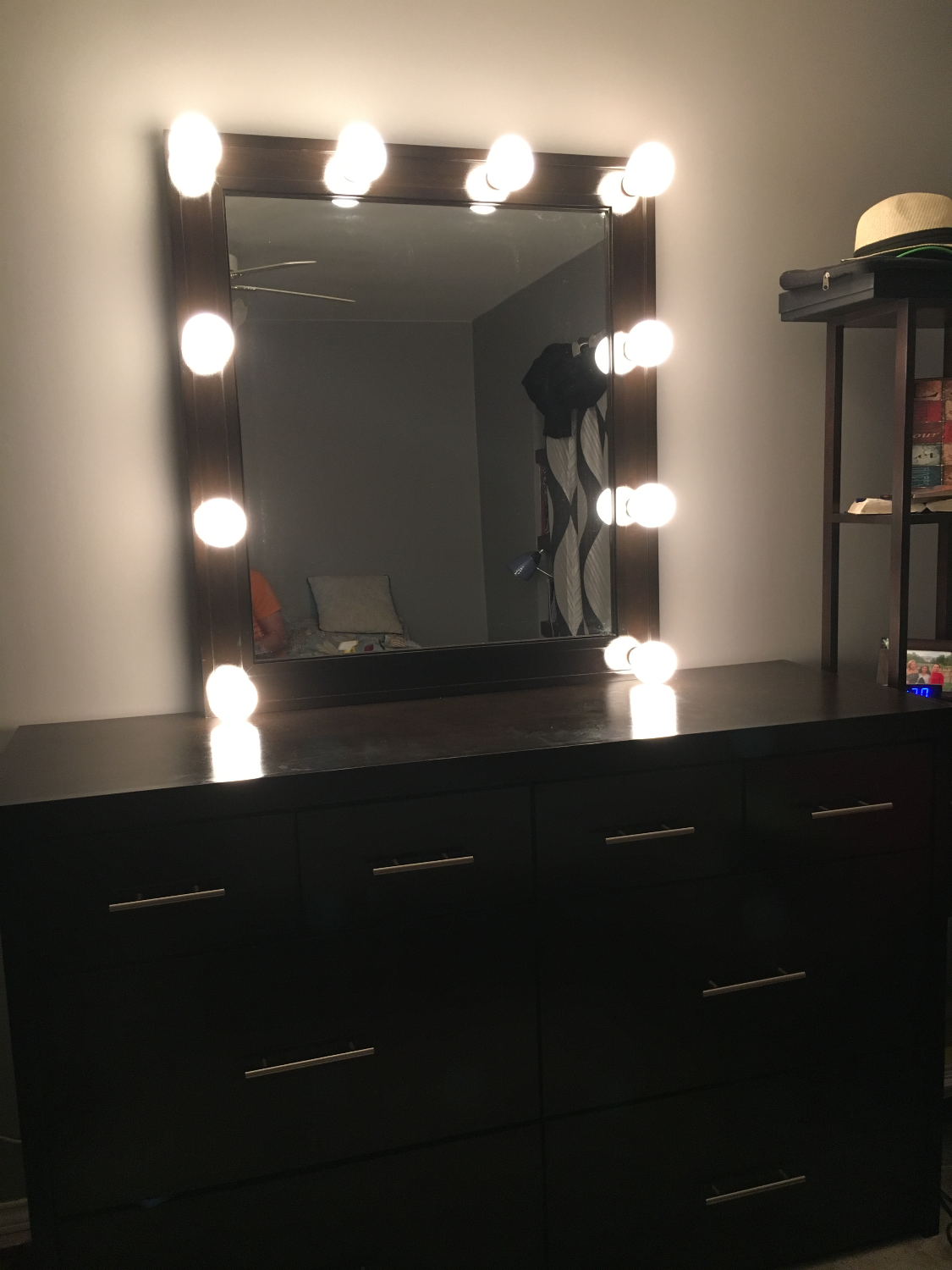 Hollywood Mirror with Drawer
