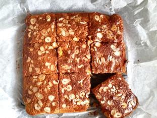 Glutensiz Muzlu Kek (gluten free banana cake)