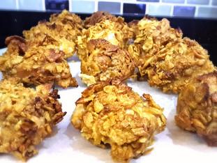 Cornflakesli Fırında Tavuk Topları