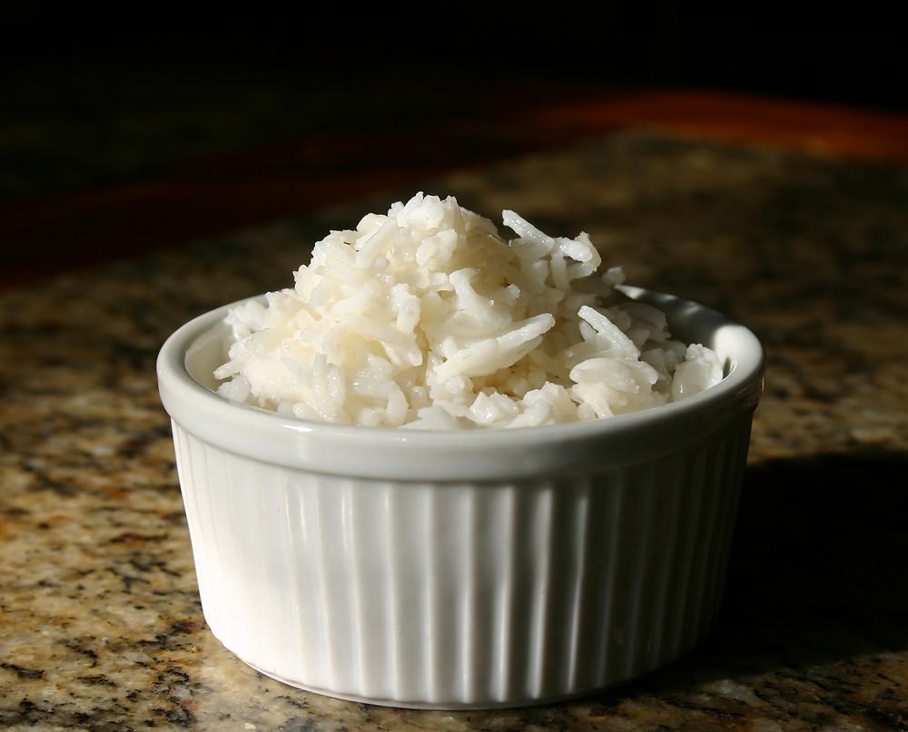 White Fluffy Rice