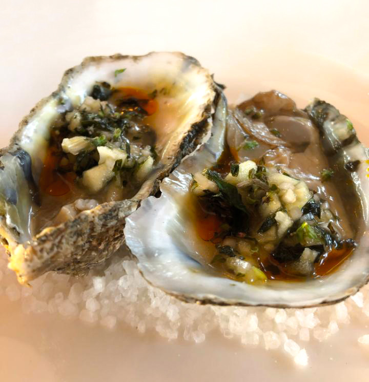 Fantastic baked oysters