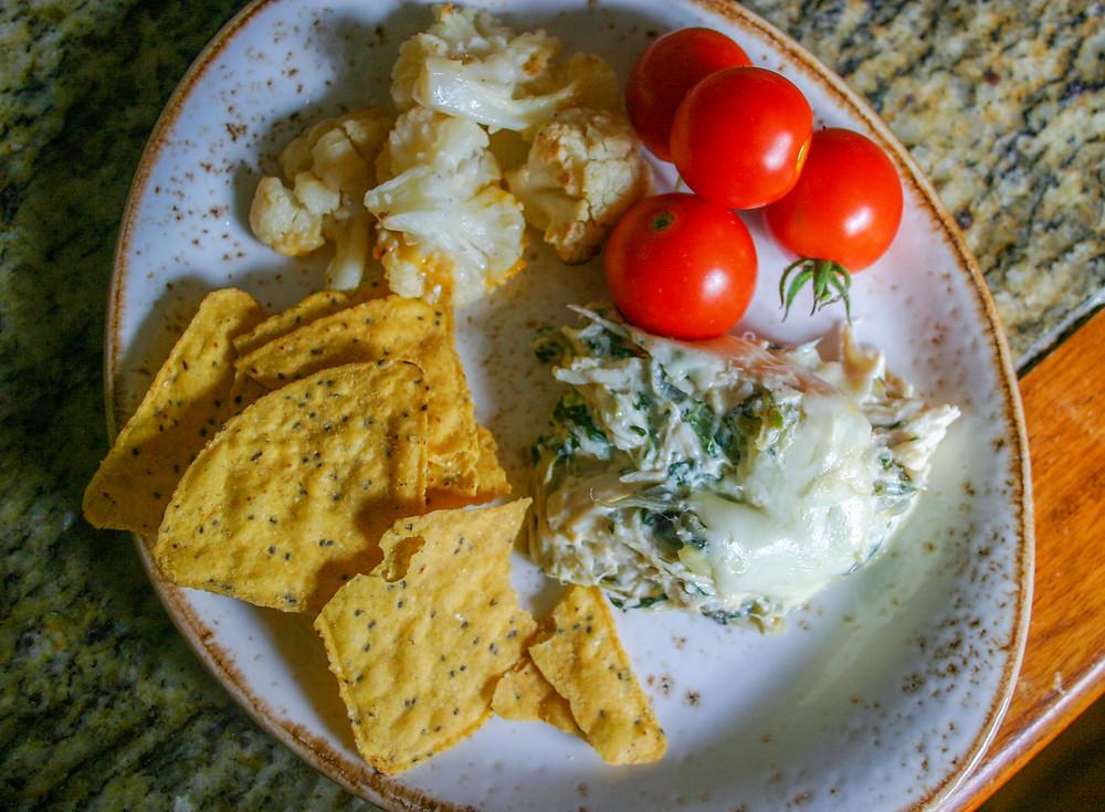Spinach Chicken Artichoke Casserole