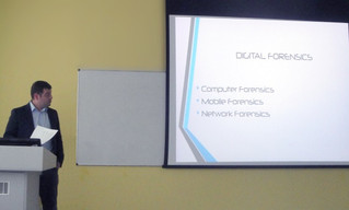 "Mnorel's presentation on ""Employability and Internship Month"" of UCLan Cyprus"