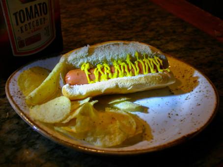 Smoking Hot Dogs