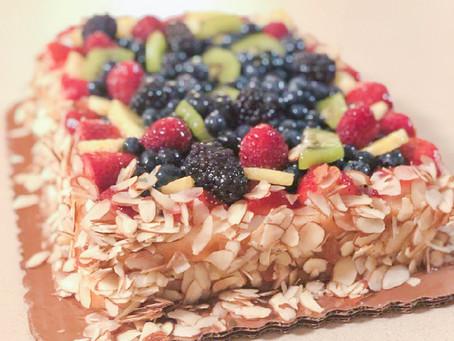 Cake with Fruit, Not Fruitcake