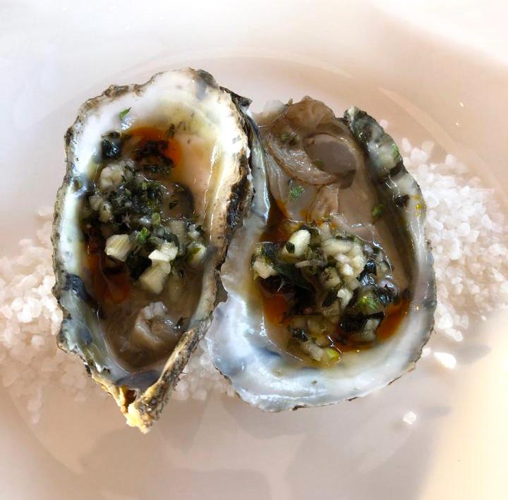 Sea salt oysters