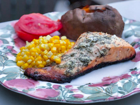 Grilled Salmon that Only Celebrities Eat