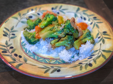 Broccoli and Chicken Stir Fry