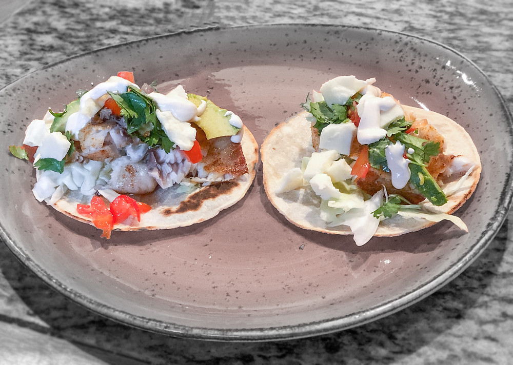 Tilapia Fish Tacos are the best tacos for the dish of fish tacos. There are avocados, tomatoes, onions and cheese! This is the best tilapia recipe for tacos and the best fish tacos recipe including tilapia. The cheese melts perfectly with this Mexican classic recipe dish of fish tilapia tacos. Great for the whole family and more.