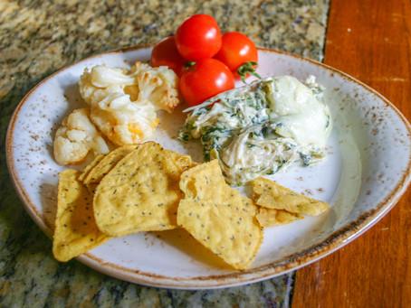 3-Cheese Spinach Chicken Artichoke Casserole