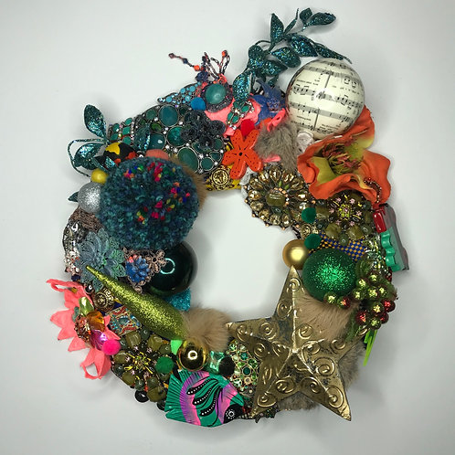 Up cycled wreaths