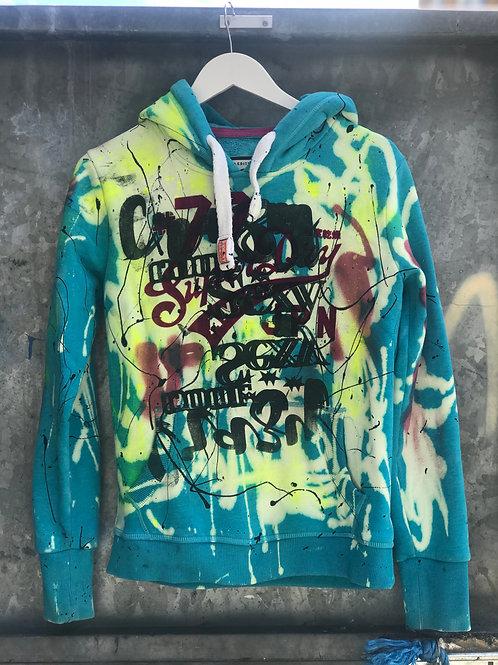 Upcylced superdry hoodie
