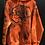 Thumbnail: Orange unisex  hoodie