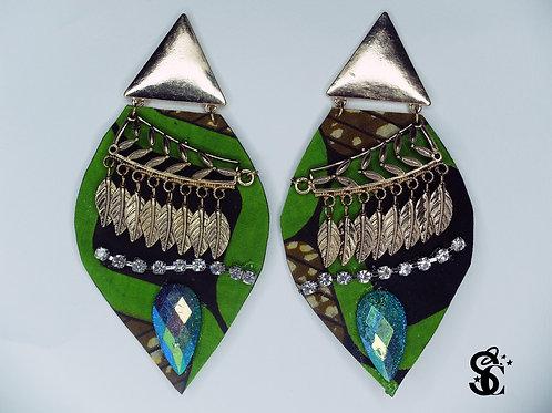 Earrings (leather)