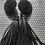 Thumbnail: Vintage tassle earrings
