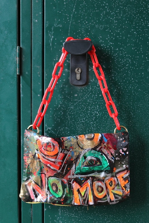 Hand Crafted ( Vintage Leather) Multi-Functional Bag