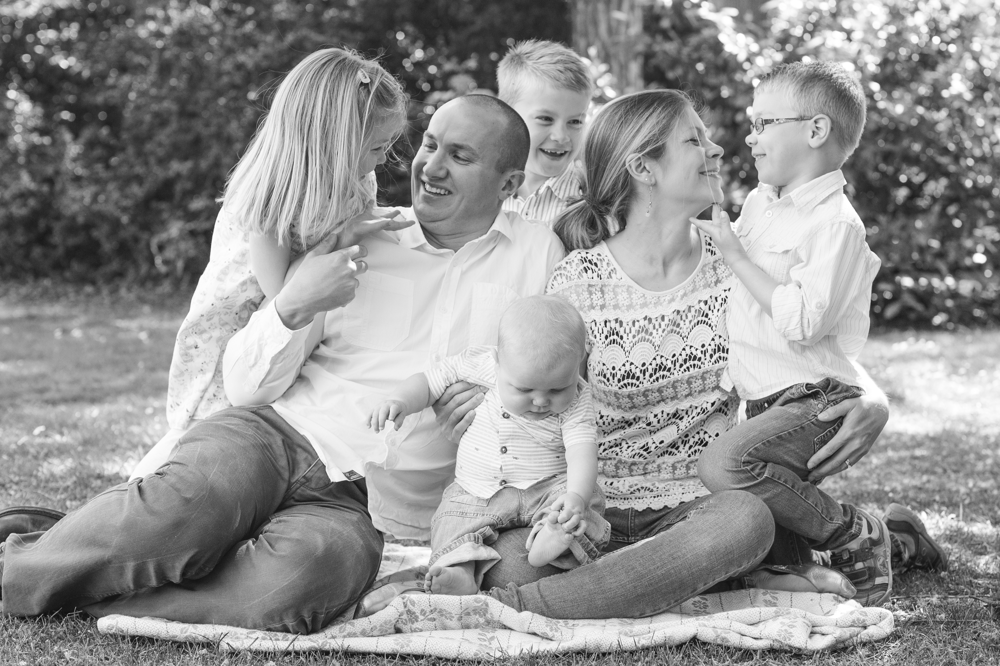 Bedford Park family photography
