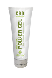 CBD Power Gel one of 3 New Products from New Leaf Pharmaceuticals