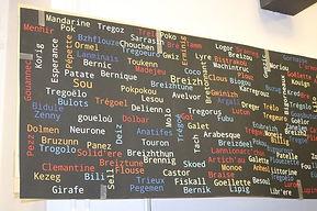 Tableau des noms