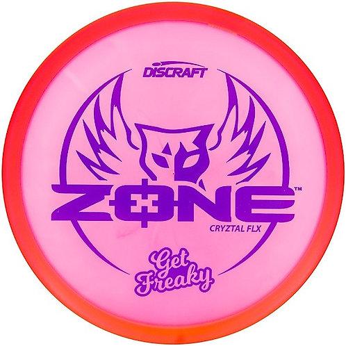 """Discraft Brodie Smith CryZtal Flx """"Get Freaky"""" Zone"""