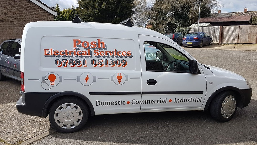 Posh Electrical Services van.jpg