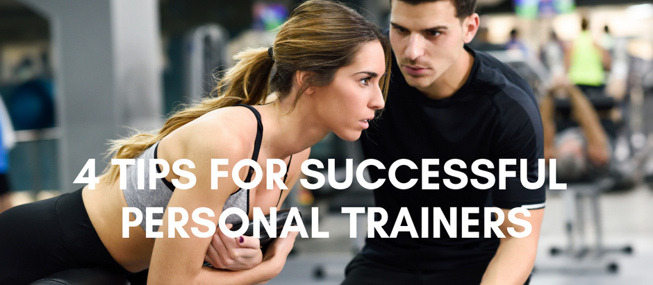 4 Quick Tips to Personal Training Success