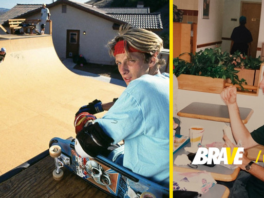 Tony Hawk once lost everything, sold his house, and lived off a $5-a-day Taco Bell allowance.