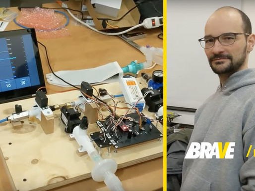10 people in 10 days invented a simple, low-cost, easy-to-manufacture ventilator.