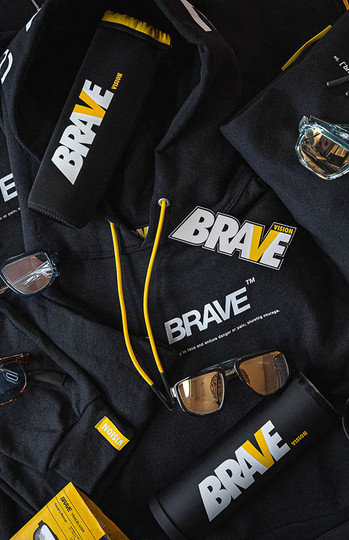The be BRAVE Hoodie