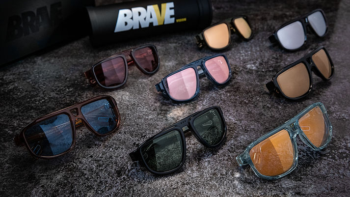 BRAVE Vision Sunglasses full collection.