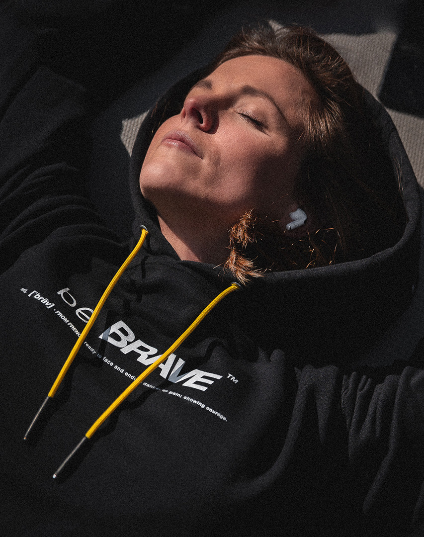 The be BRAVE Hoodie