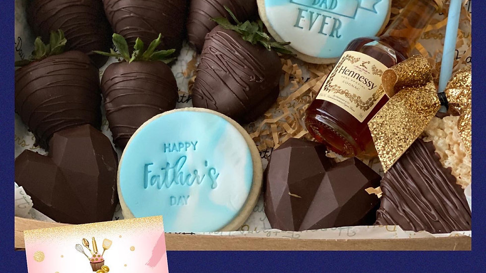 Father's Day small treat box