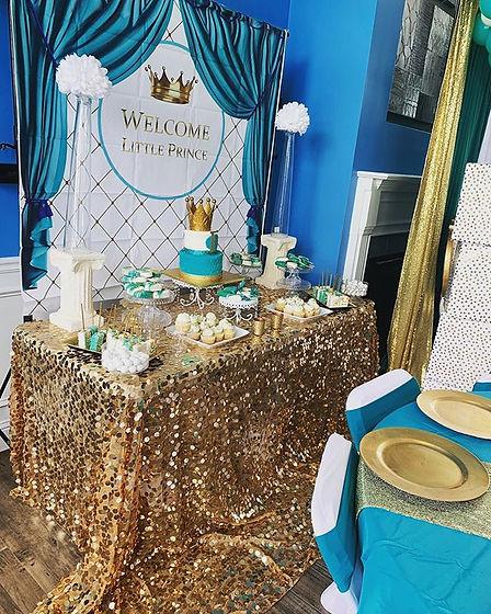 Royal baby shower. _I had so much fun wi