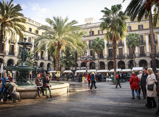Architecture and gastronomy in Barcelona