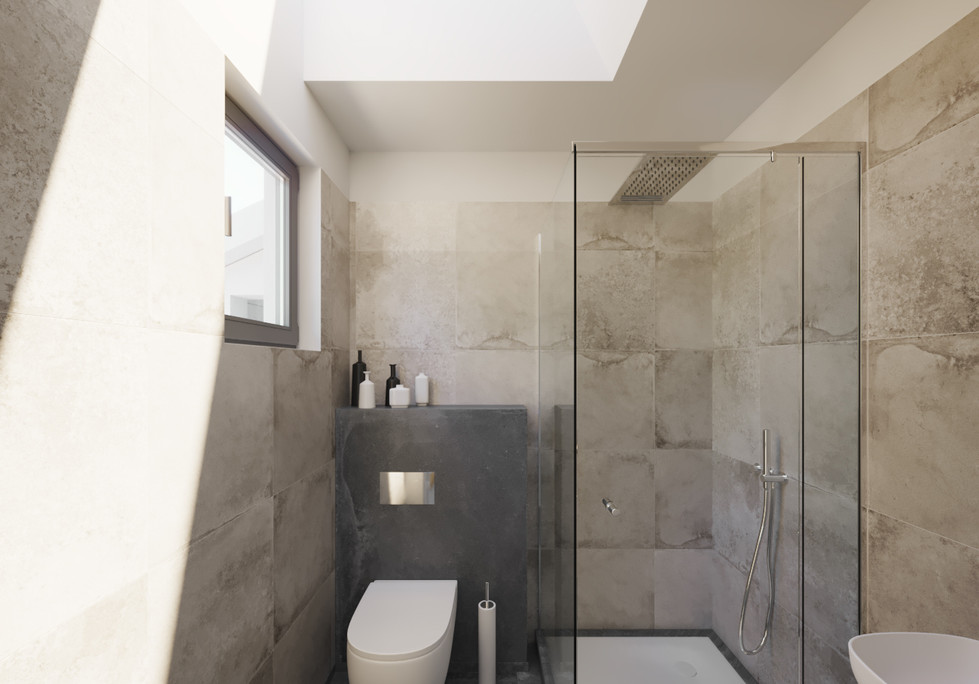 Bright Lit Washroom