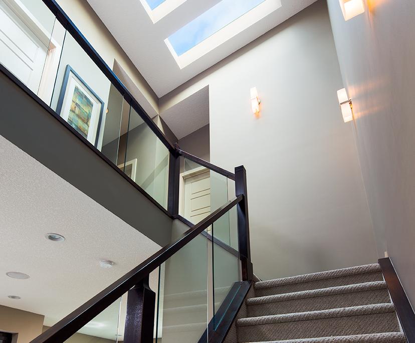 Amazing Stairway Skylights