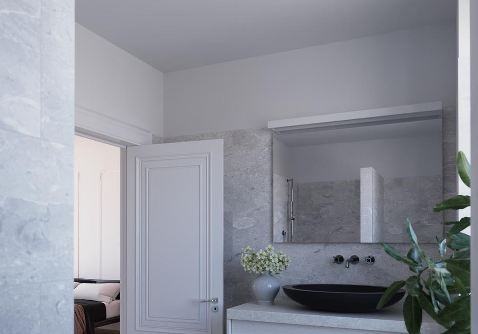 Washroom without Skylight