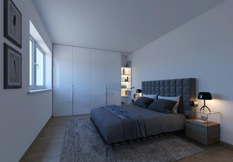 Bedroom Bedroom before Skylight