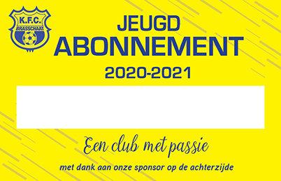 Jeugd Abonnement 2020-2021